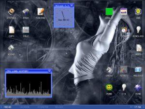 Скриншот MenuetOS