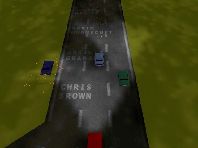 crazy cars в Excel 2000