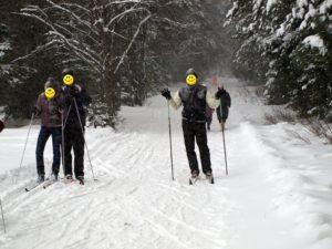 Лыжная трасса в Порошино