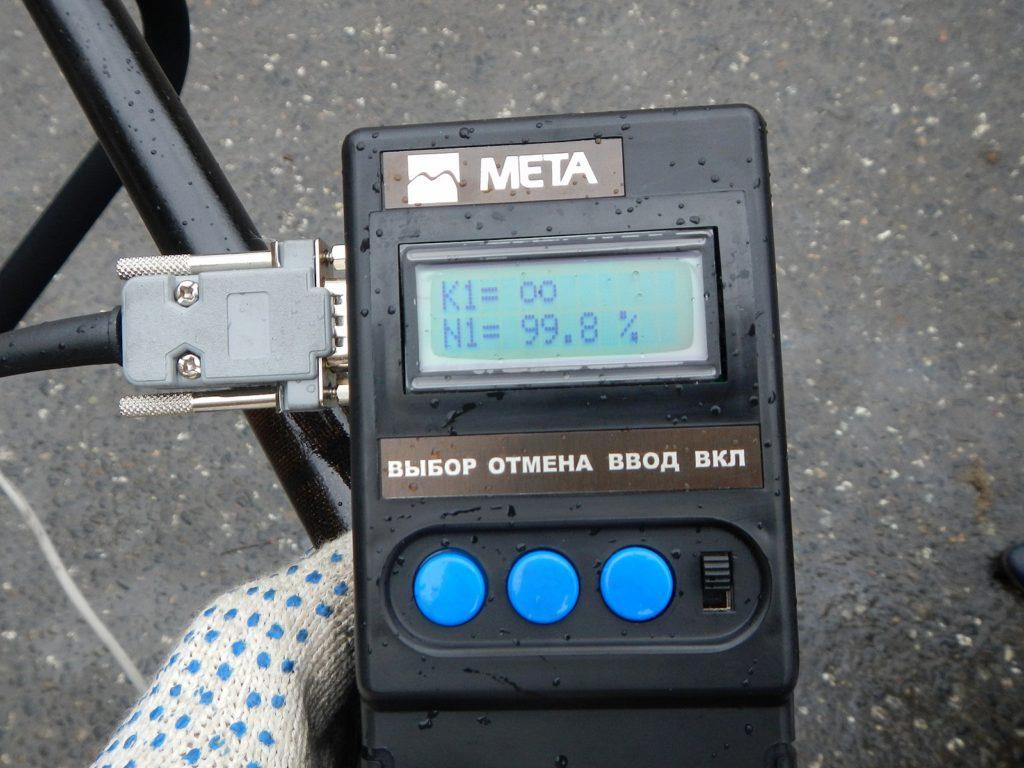 Экран измерителя дымности МЕТА-01МП