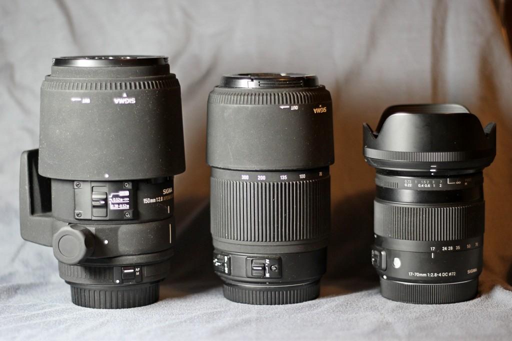 Моя коллекция объективов Sigma
