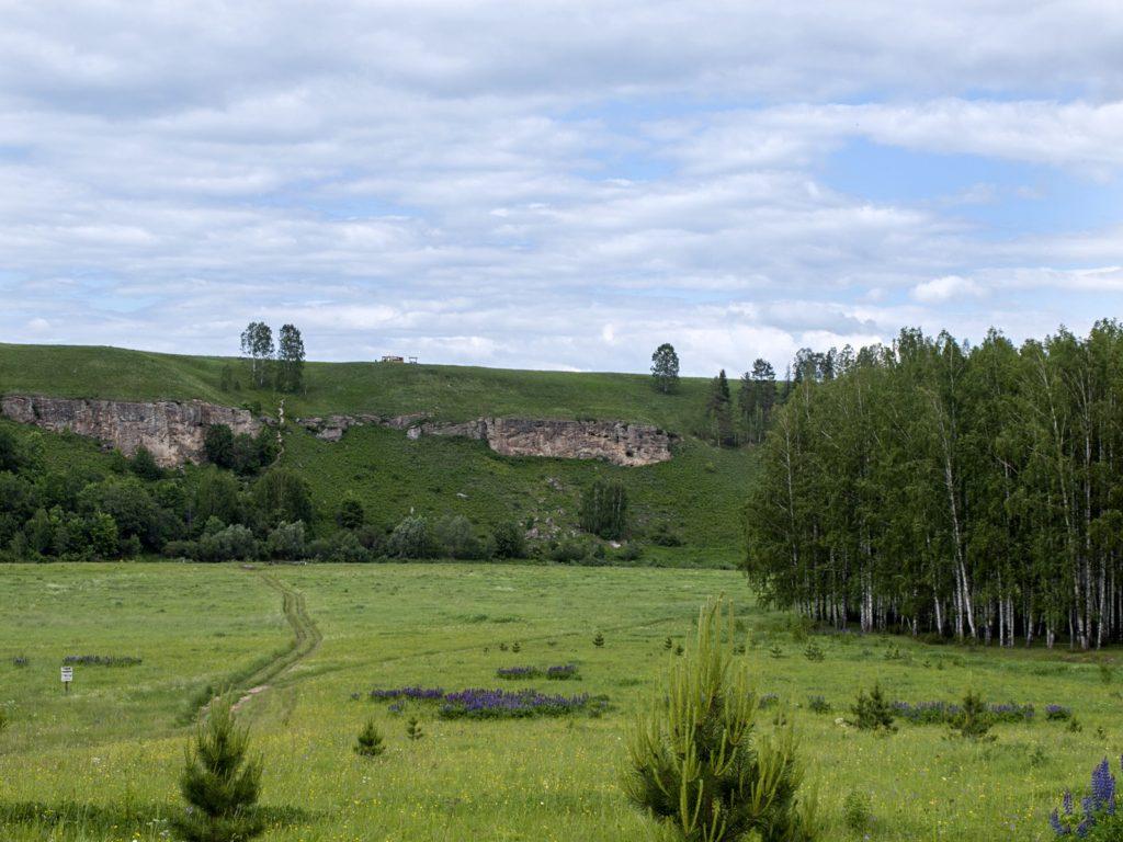 долина реки Немды