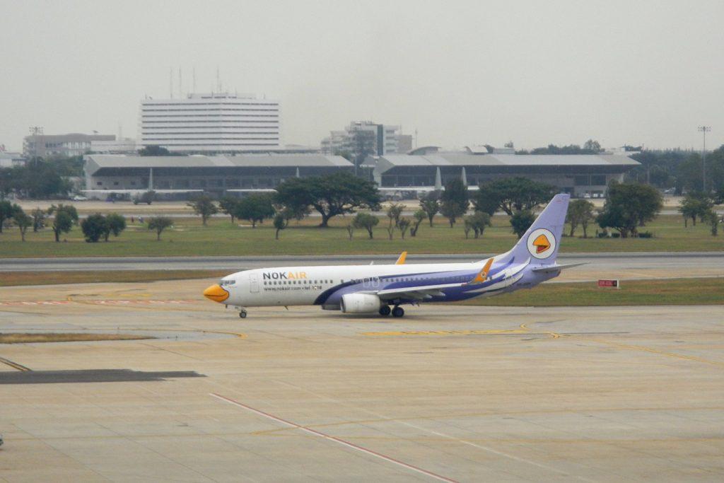 Самолёт NokAir в аэропорту Дон Муанг (Бангкок)