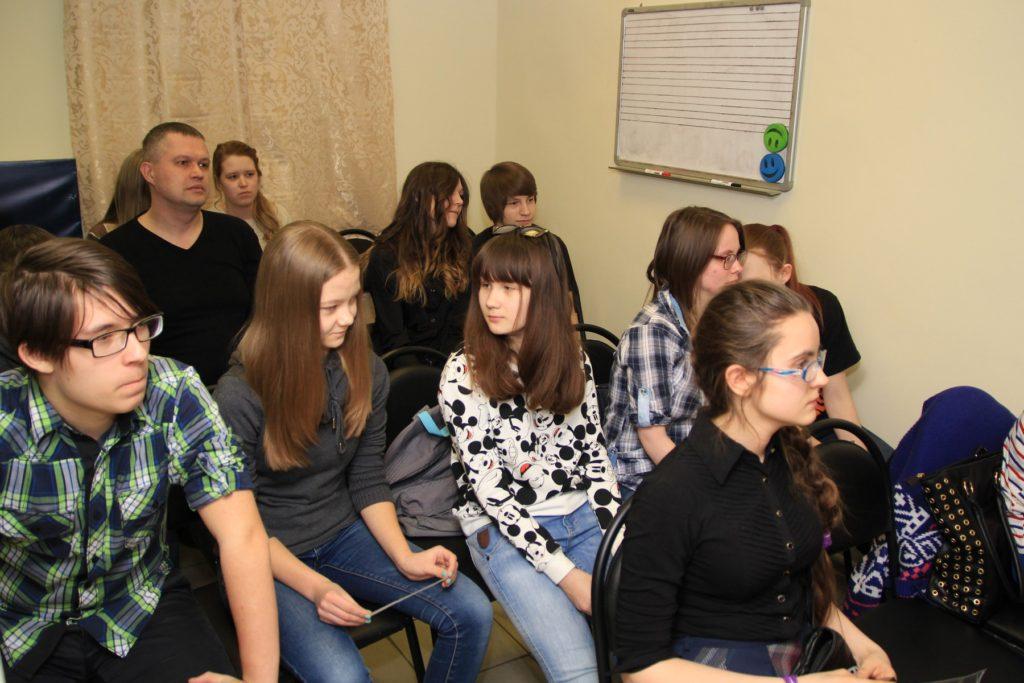Ученики школы рока Rock Stars School интервью с Андреем Князевым