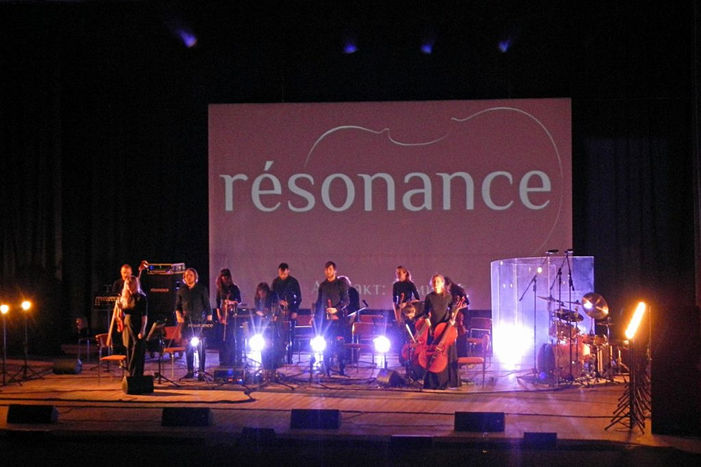 группа resonance на концерте в Кирове