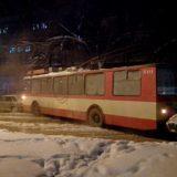Авария на ул. Красноармейской в Кирове 20.12.2016 г.