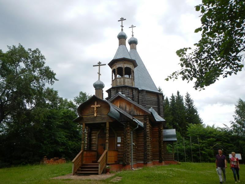 Деревянная церковь в Никульчино