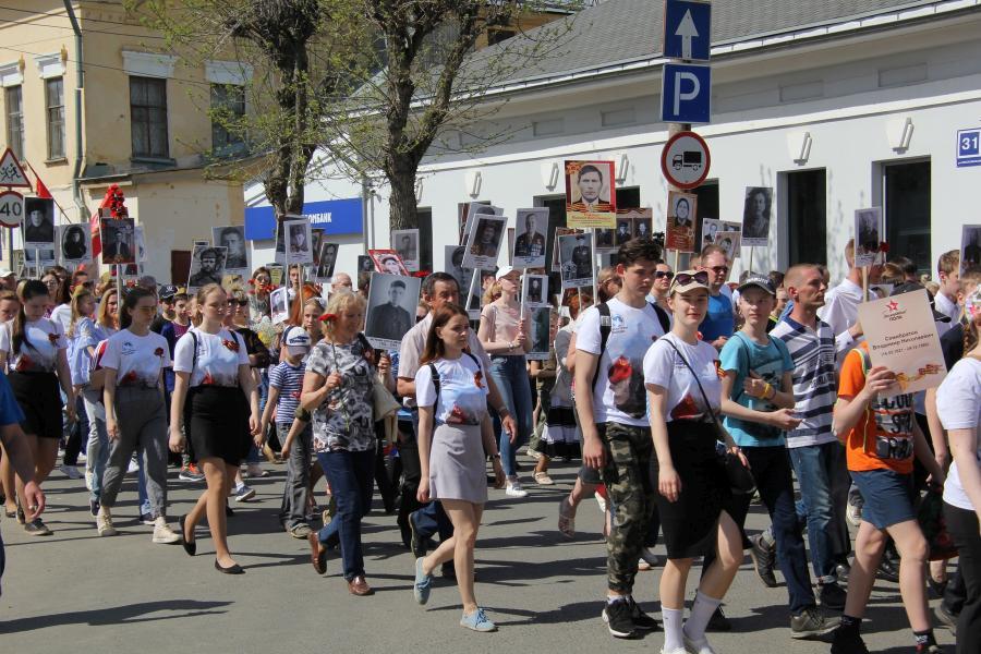 «Бессмертный полк» в День Победы 9 мая 2019 г. в Кирове
