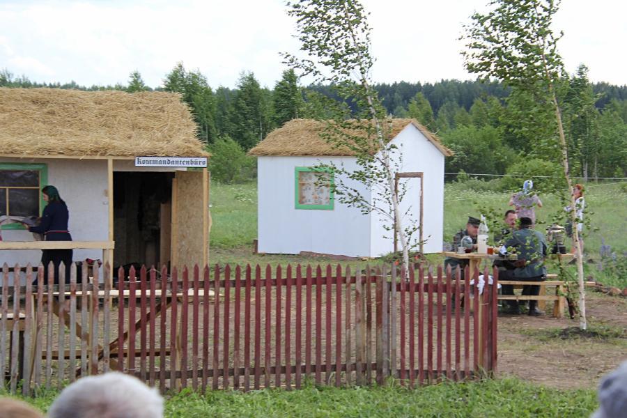 Комендатура и оккупированная немцами деревня - реконструкторский фестиваль «Живая история» 2019