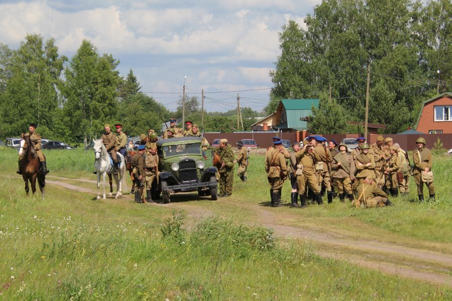 Советские войска - реконструкторский фестиваль «Живая история» 2019