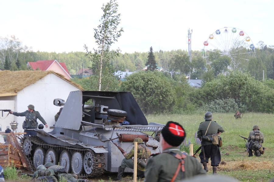 Бой в деревне - реконструкторский фестиваль «Живая история» 2019