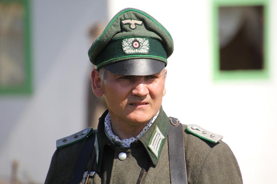 Портрет немецкого офицера - реконструкторский фестиваль «Живая история» 2019