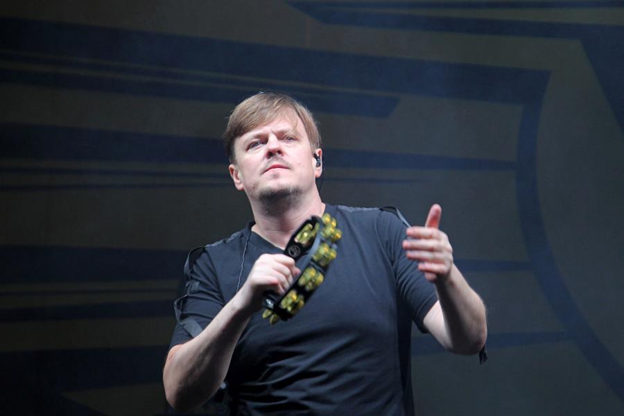 Ян Николенко, «СЕtИ» на байк-рок фестивале «Взлётная полоса» 2019, день 1, аэродром Кучаны