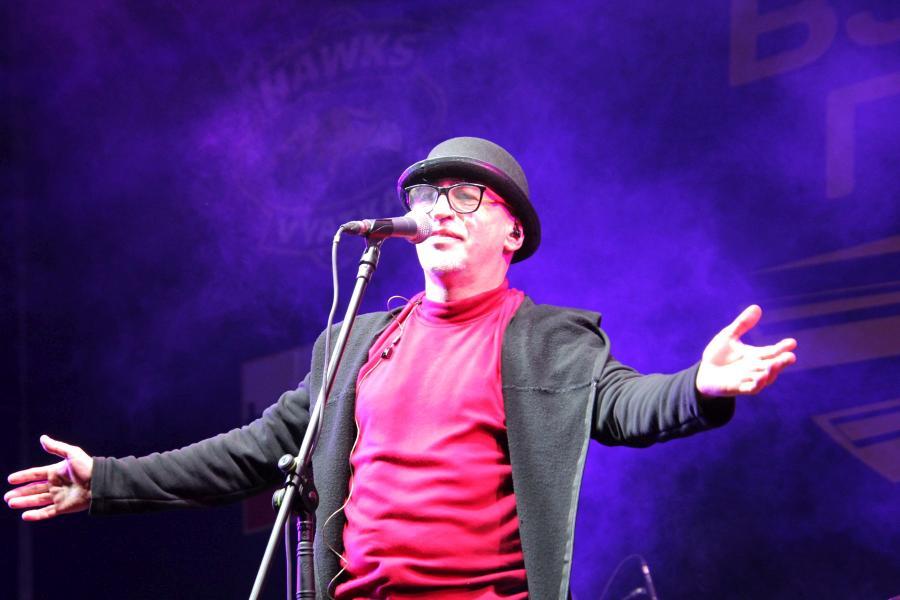 Андрей Гордеев, «Манго-Манго» на байк-рок фестивале «Взлётная полоса» 2019, день 1, аэродром Кучаны