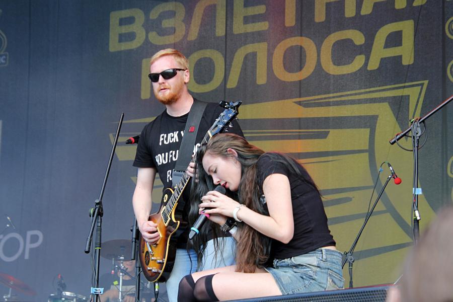 Errant Souls (Киров) на байк-рок фестивале «Взлётная полоса» 2019, день 2, аэродром Кучаны