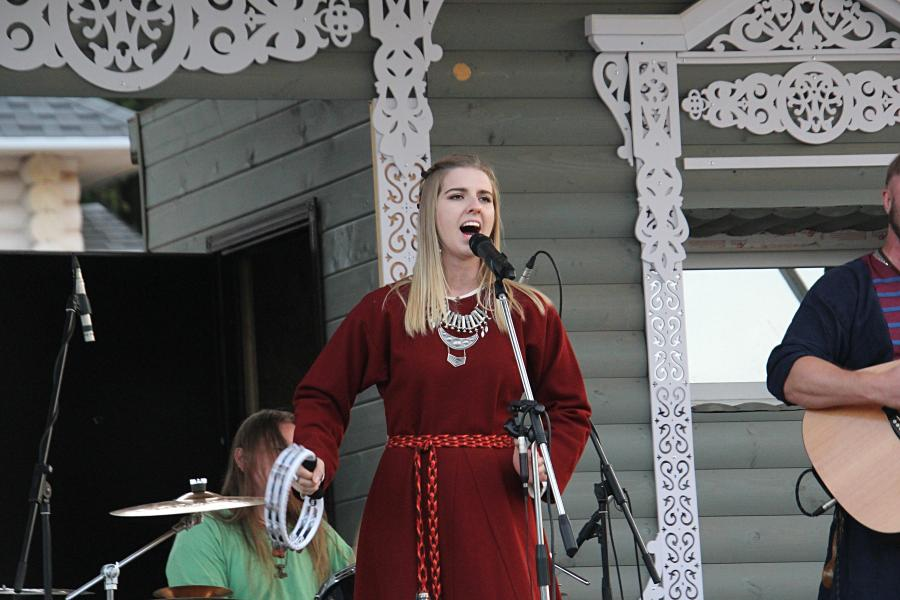 Сколот на фестивале «Хлыновская застава» 2019