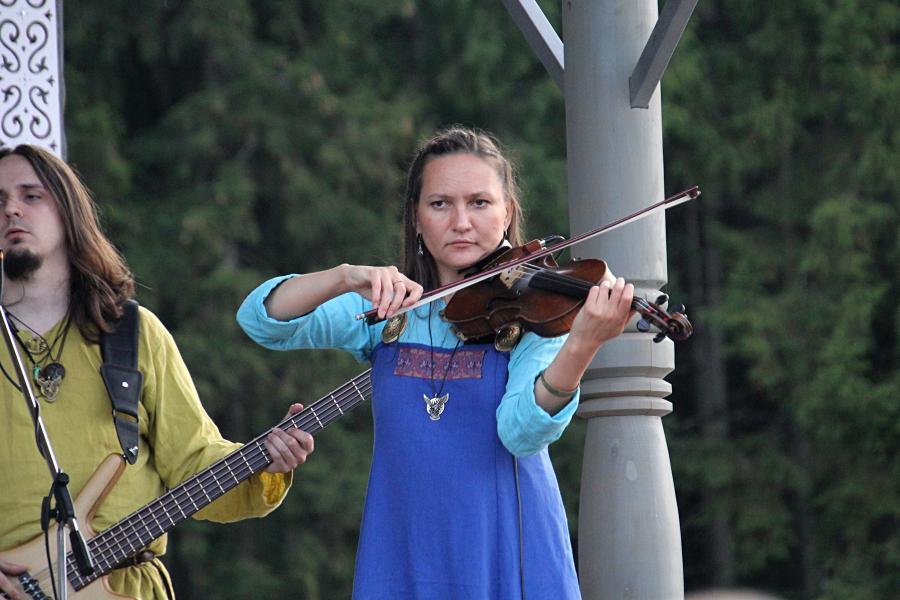 Юлия Сидорова, Сколот на фестивале «Хлыновская застава» 2019