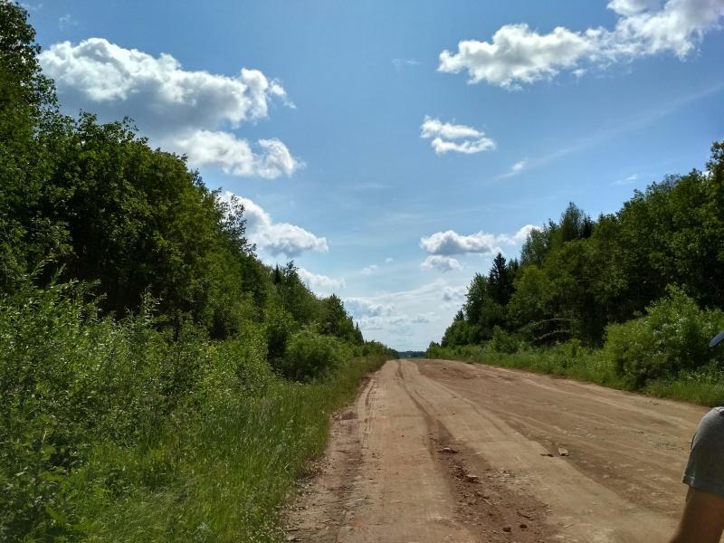 По дороге с облаками… - поход выходного дня в Первомайский, Слободской район