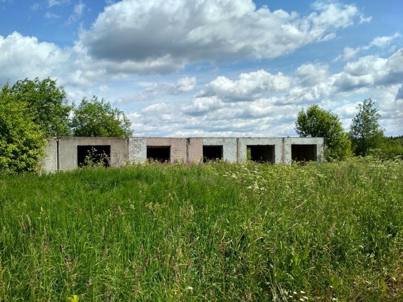 Заброшенное панельное строение в чистом поле в селе Оглоблино - поход выходного дня в Первомайский, Слободской район