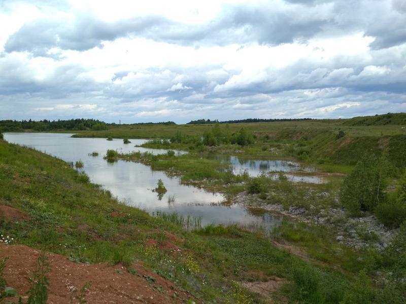 Карьер и пруд имени Башлачёва - поход выходного дня в Первомайский, Слободской район