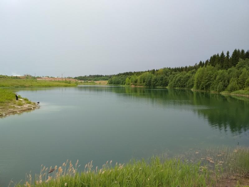 Приближается ненастье… пруд им. Башлачева - поход выходного дня в Первомайский, Слободской район