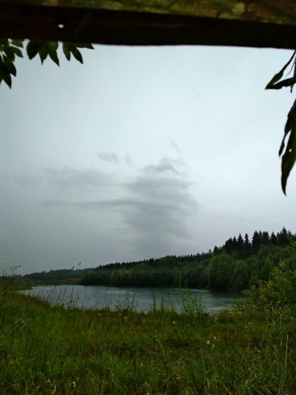 Необычное облако - поход выходного дня в Первомайский, Слободской район