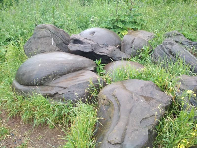 Камни в Подчуршинском городище - поход выходного дня в Первомайский, Слободской район