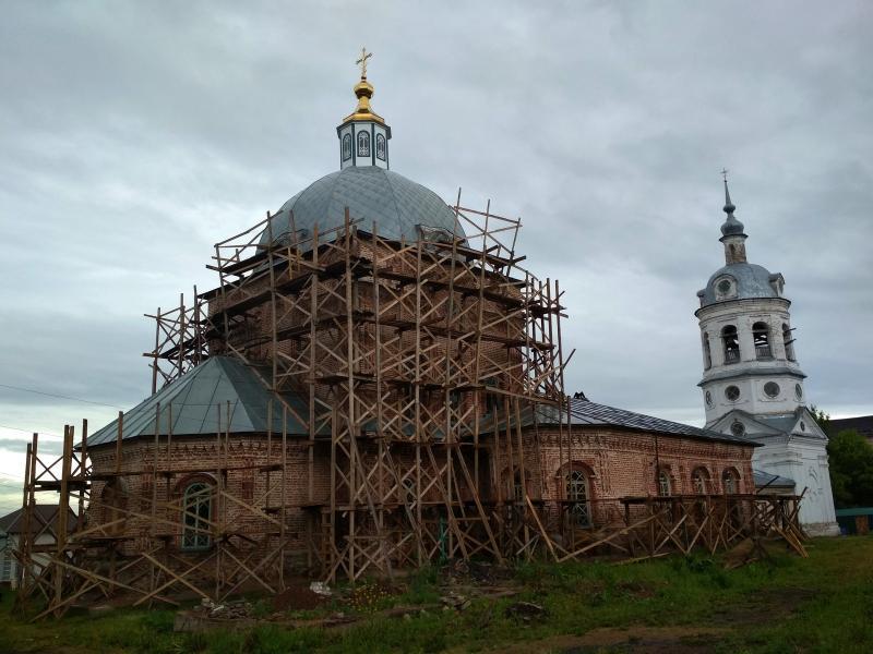 Спасо-Преображенская церковь в Первомайском - поход выходного дня в Первомайский, Слободской район