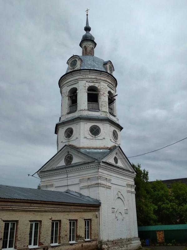 Колокольня Спасо-Преображенской церкви в Первомайском - поход выходного дня в Первомайский, Слободской район