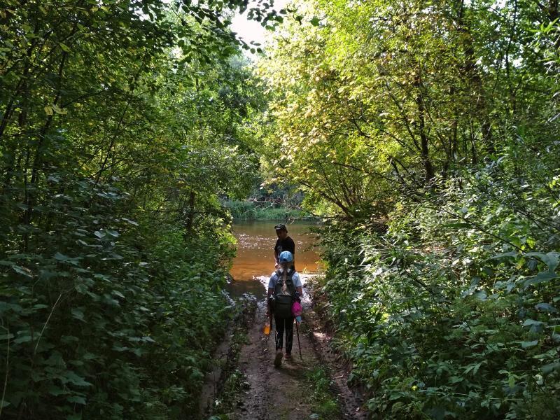 Выход к реке Ивкина
