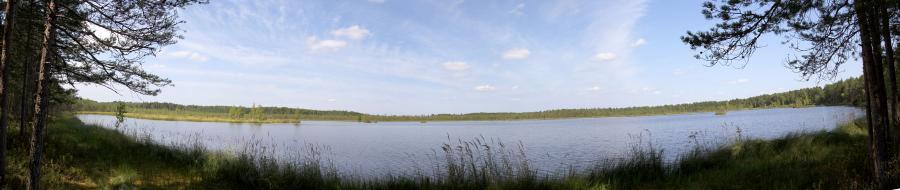 Панорама Орловского озера