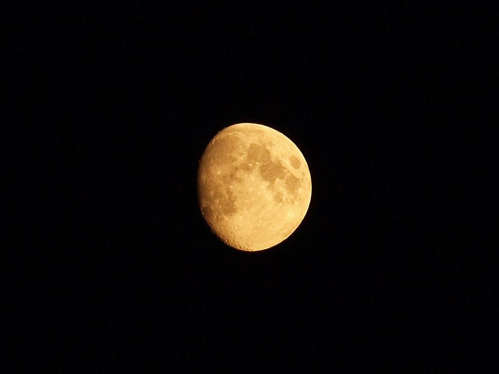 Вчерашняя Луна
