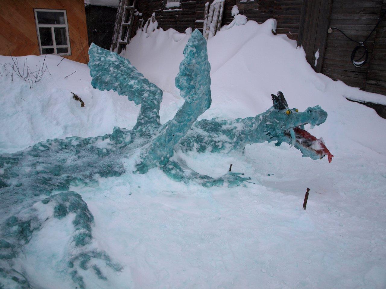 Порошинские лыжи и зелёный ледяной дракон