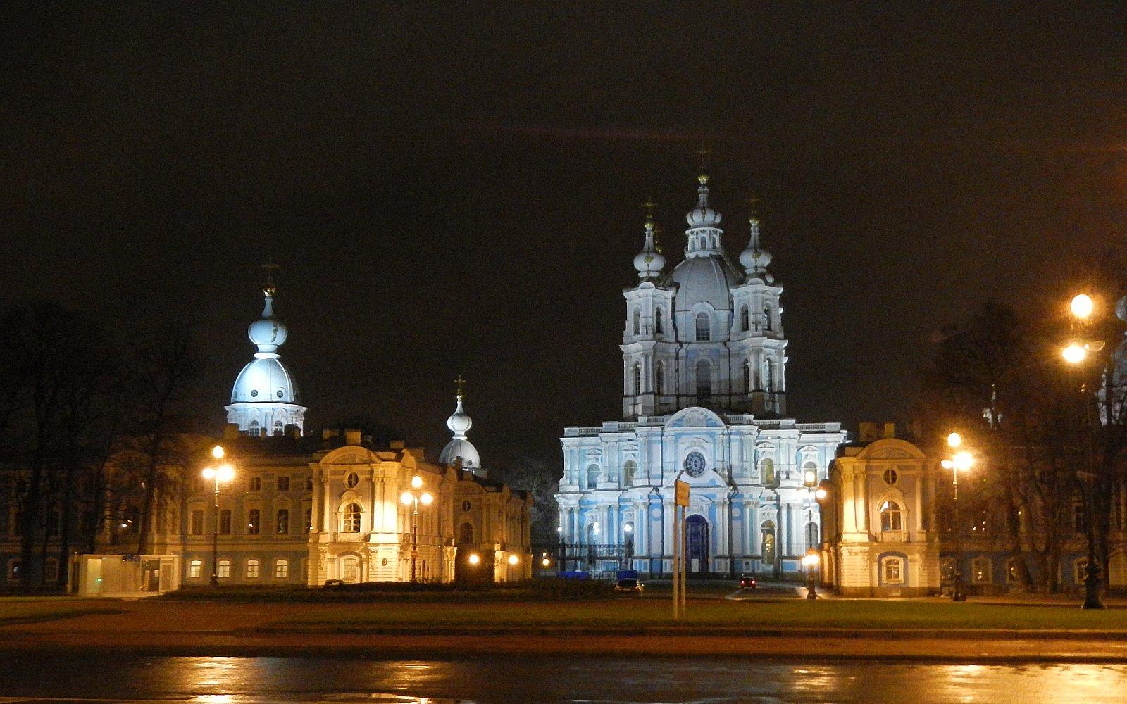 Зимняя поездка в Санкт-Петербург