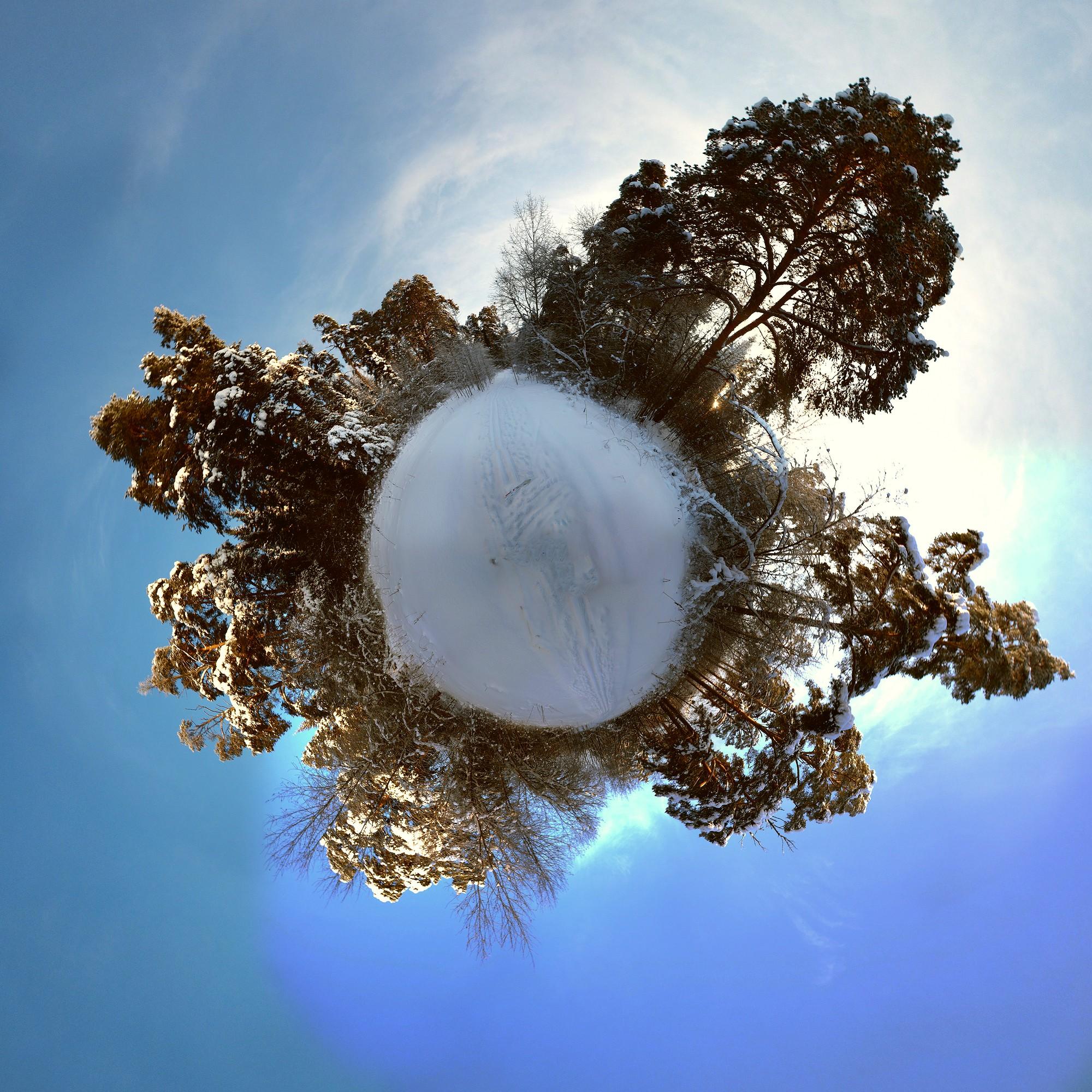 Минипланеты зимнего Заречного