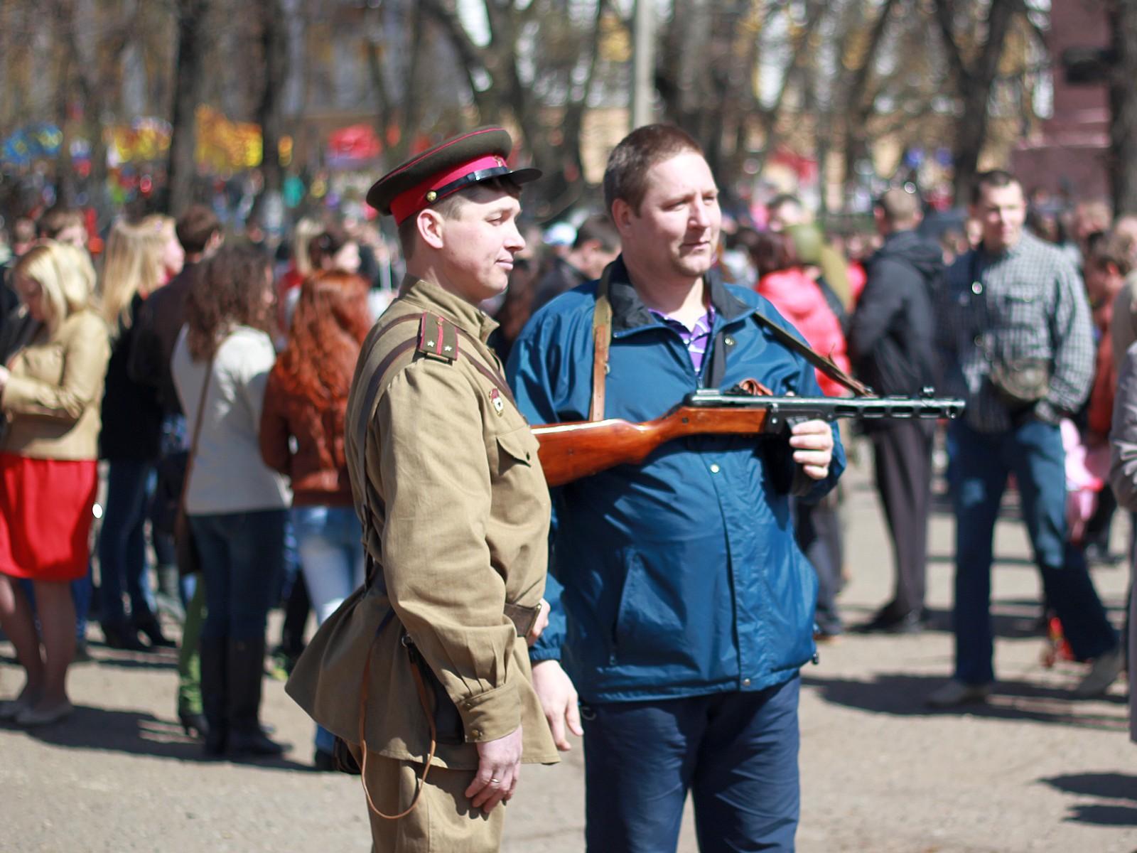 Киров 9 мая в День Победы