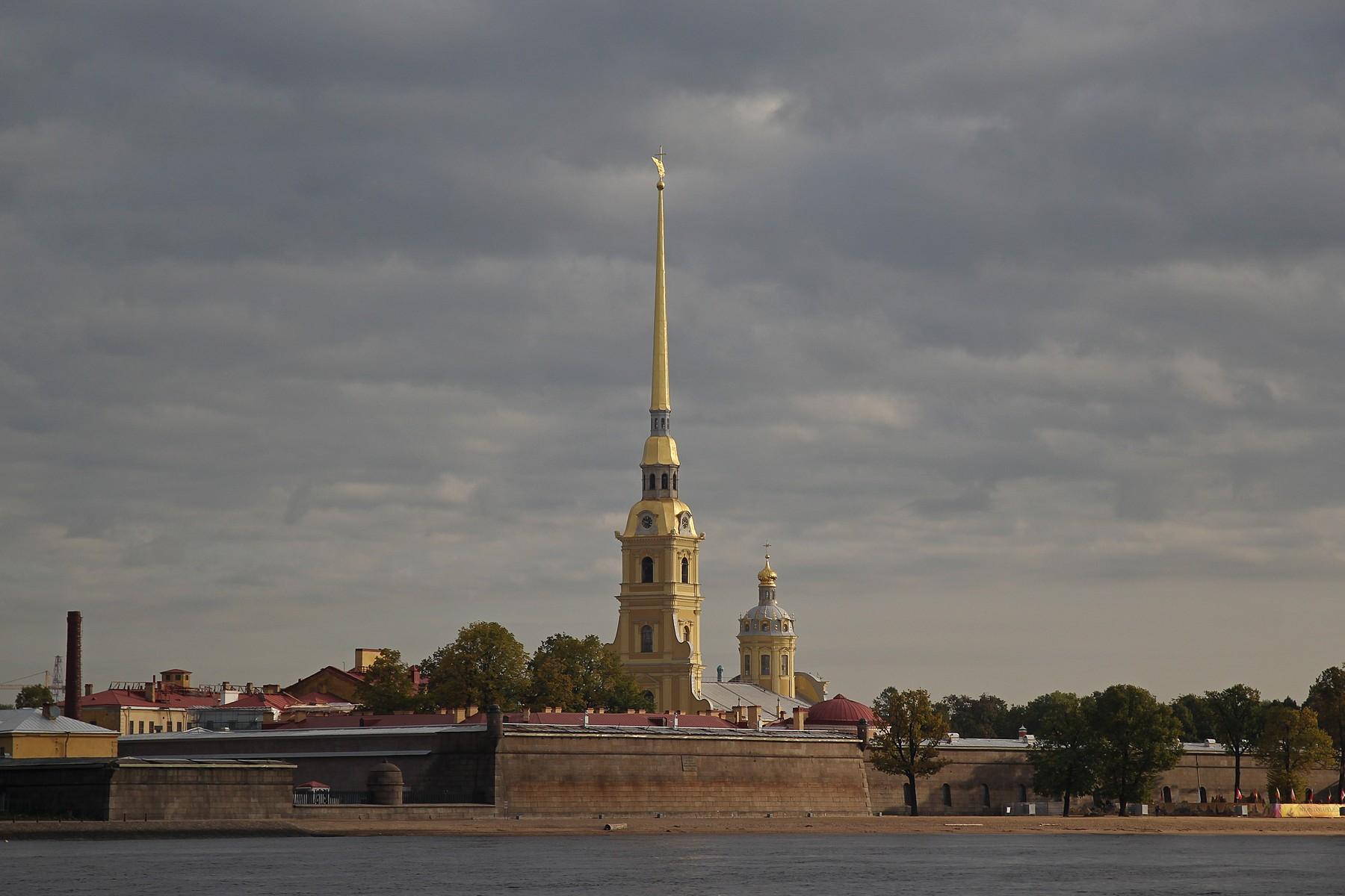Виды Санкт-Петербурга со стрелки Васильевского острова