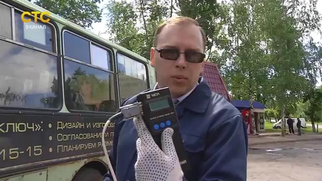 Очередная охота за дымящими автобусами