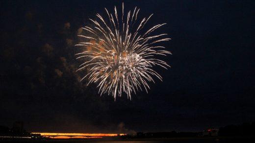 День города 2014: фестиваль фейерверков