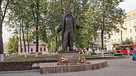 В Кирове открыли памятник Фёдору Шаляпину