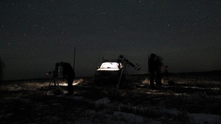 Астрономический выезд в Шалегово