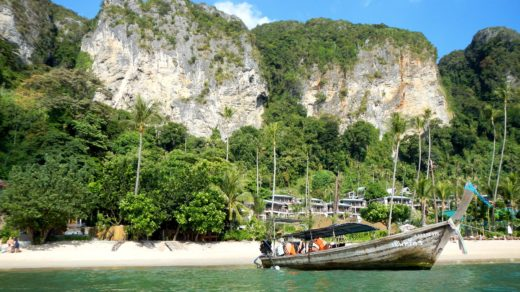 Обезьянья тропа и пляж Pai Plong Beach