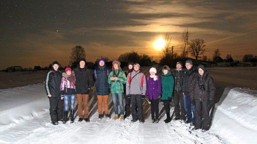 Астрономический выезд в Жданухино