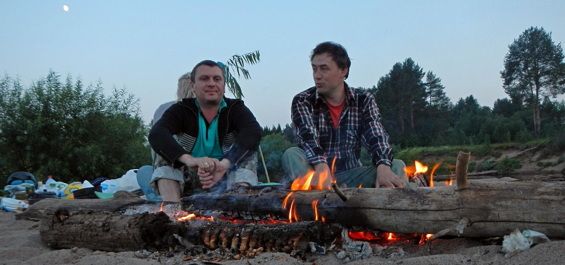 Ночёвка на реке Белой Холунице, поющие пески и Чирковский карьер