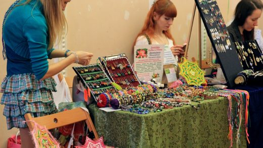 День ирландской культуры в Кирове: арт-маркет