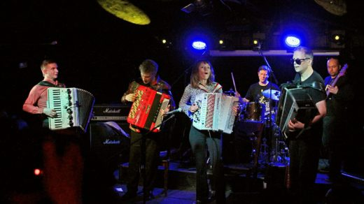 Концерт Accordion Rock Orchestrion Фёдора Чистякова в Backstage Club