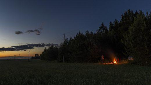 Как мы ездили ловить НЛО, а наловили пригоршню светлячков