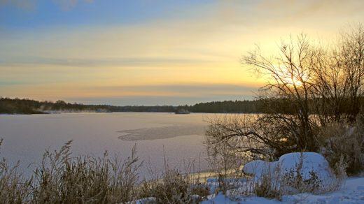 Зимние пейзажи озера Жуково