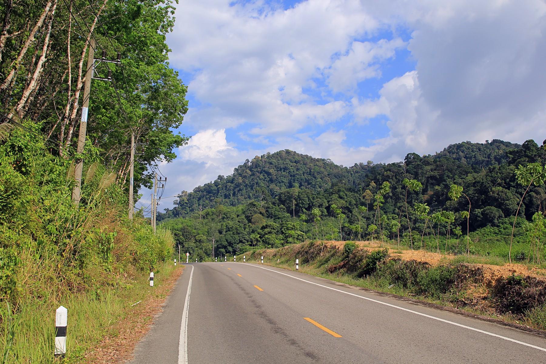Несколько пейзажей по дороге из Као Лака в Такуа Па
