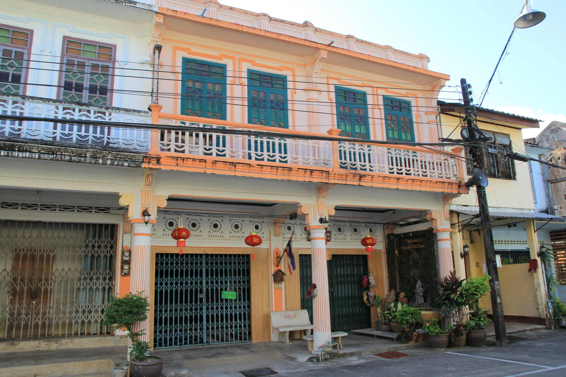 Такуа Па: старинный китайско-португальский город в Таиланде, переживающий не лучшие дни